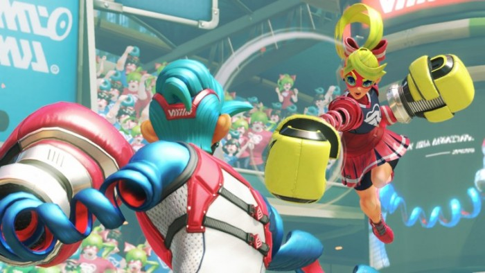 任天堂Switch《Arms》官方介绍曝光 少侠手下留情