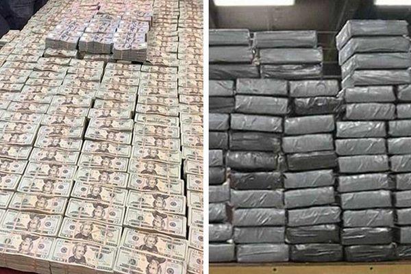 纽约警方家具中起获2800万现金和3公斤海洛因