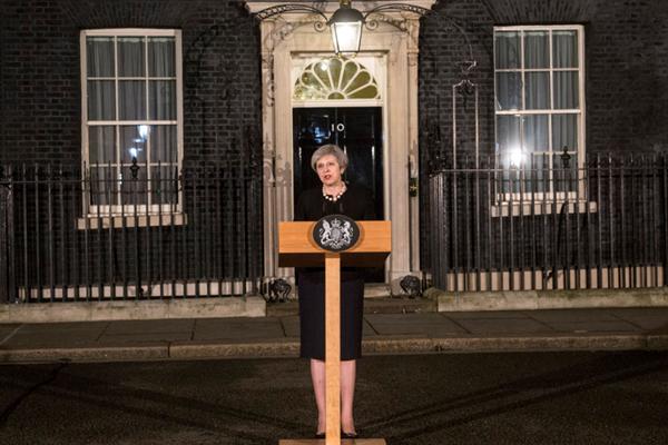 英国伦敦议会大厦外发生枪击 首相特蕾莎·梅发表声明