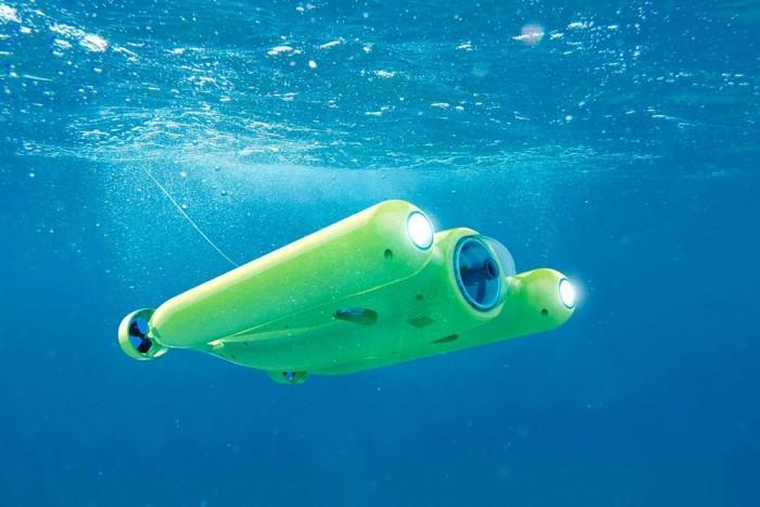水下无人机新成员Gladius上线众筹:带你探索水下世界