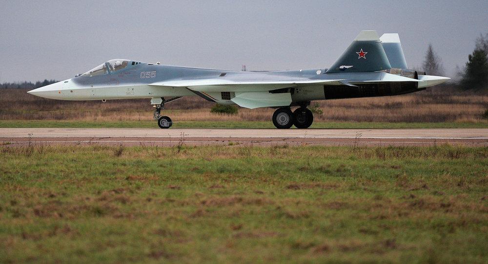 中美俄五代机争锋!俄明年将接受首批T50战机