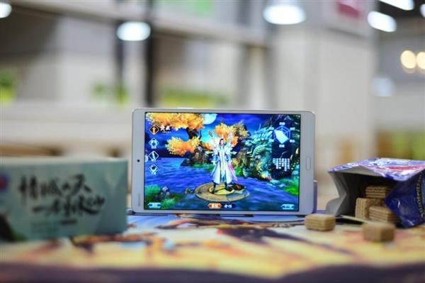 平板也玩跨界 华为平板M3诛仙手游定制版图赏