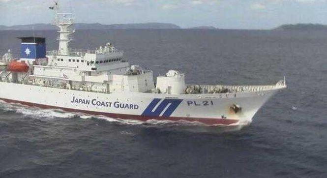 """日海保公布宣传视频 内含在钓鱼岛""""应对""""中国海警船画面"""