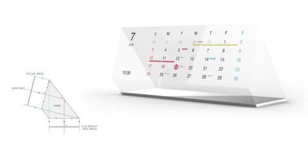 日本推出电子纸智能挂历 可动态显示日程提醒