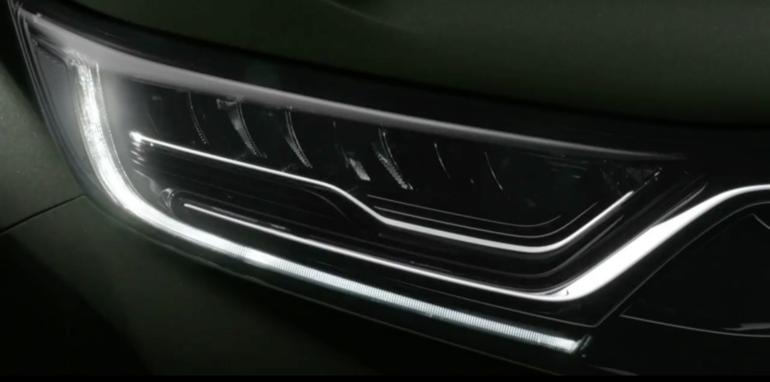 2017款本田七座版CR-V官图发布 新增柴油版