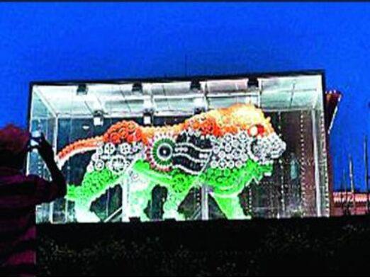 """""""印度制造""""标志雄狮雕像被嫌弃 几乎已无位置可摆放"""