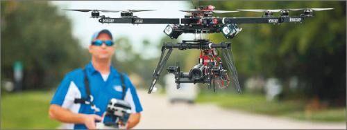 """报告预测:美商用无人机未来5年将呈现""""跳跃式增长"""""""