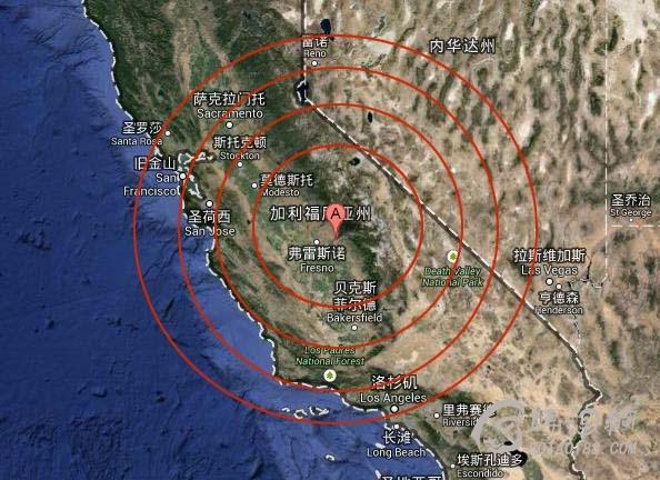 研究称加州若发生强震地层恐下陷至海平面以下