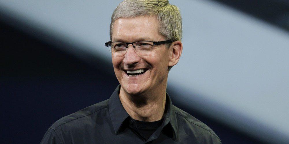 库克称苹果会继续投资中国市场 帮助改善民众生活