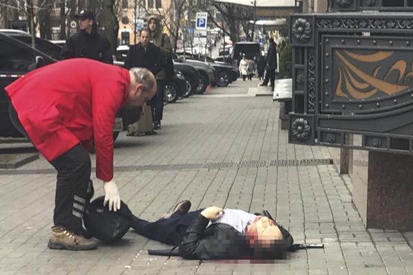 俄罗斯前议员在乌克兰首都被射杀