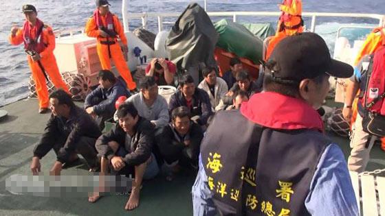 台湾方面扣留中国大陆船员