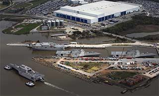 美军最新一艘濒海战斗舰下水