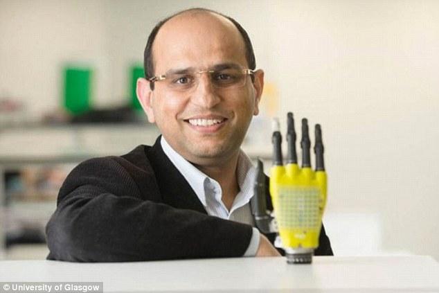 英研究人员发明太阳能皮肤 感觉能力如同天生