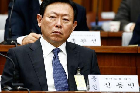 乐天集团会长:我热爱中国 中国是祖先故土