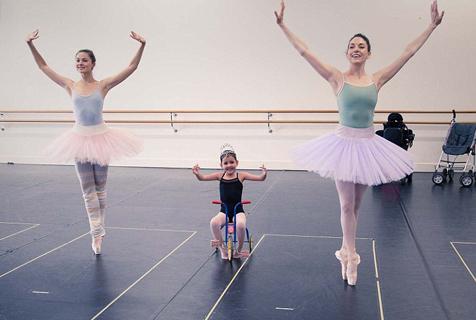 澳基金会助肌肉萎缩女孩圆芭蕾梦