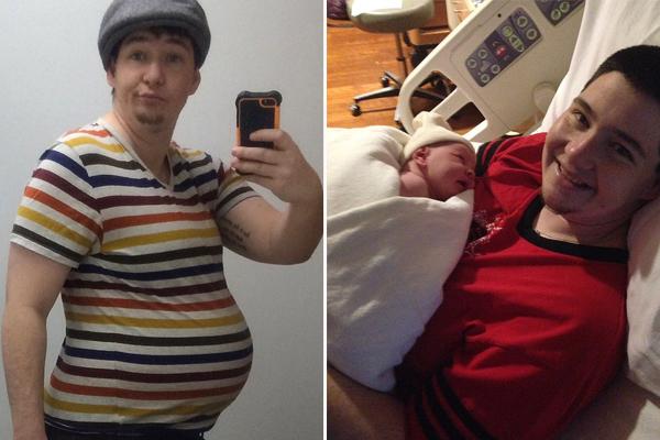 美变性男子成功怀孕生下女儿 称不会移除卵巢