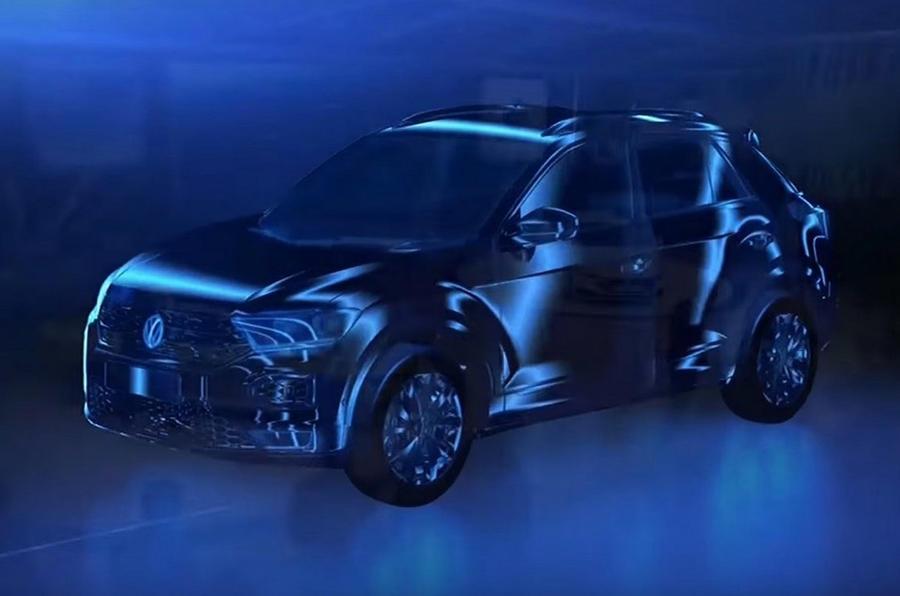 大众T-ROC预告图发布 小型SUV前瞻