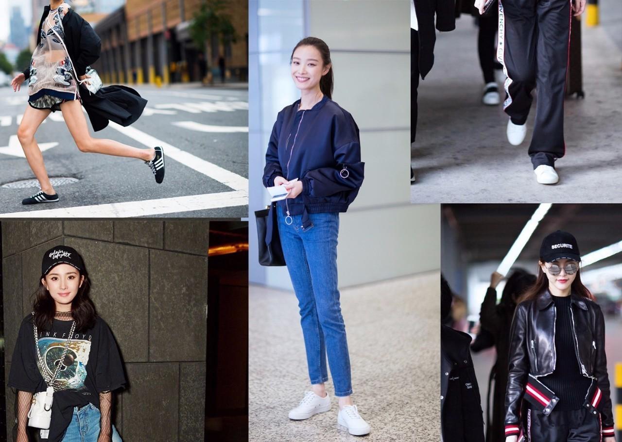 不论年龄、无关胖瘦,掌握4大法则,运动鞋街拍就是这么好看又方便
