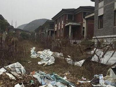 南京千万级别墅烂尾7年 阳明山庄业主维权尚无进展