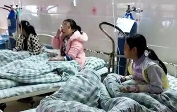 桂林一学校疑似发生集体食物中毒 14名学生紧急就医