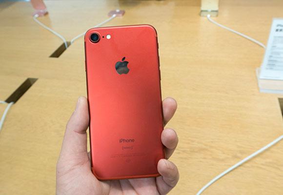 iPhone7红色特别版上市 纪念艾滋病基金会