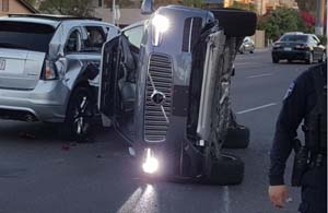 Uber无人驾驶车碰撞事故后致项目暂停