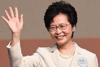 林郑月娥当选第五任香港特区行政长官