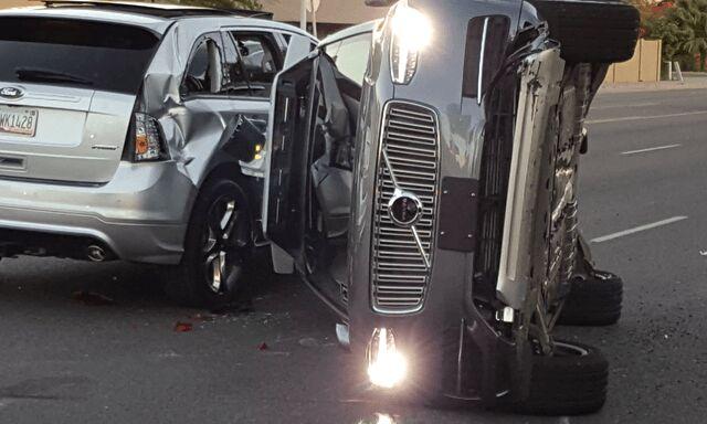 优步自动驾驶车发生车祸后暂停测试活动