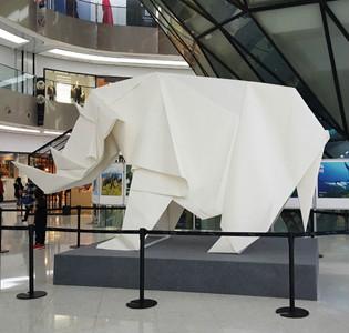 北京来福士携手TRAFFIC 举办野生动物折纸艺术展