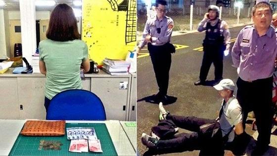 台军再爆丑闻:嫖娼后当街抢劫应召女被制服