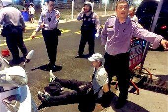 丑闻!台军人嫖娼后当街抢劫应召女被抓
