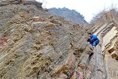 四川现罕见地质遗迹 记录2.5亿年前生物灭绝场景