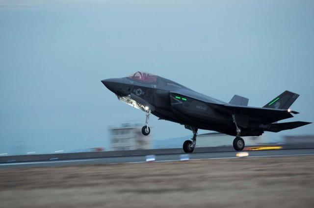 外媒渲染美军F35飞临朝鲜半岛:开战将首先出动