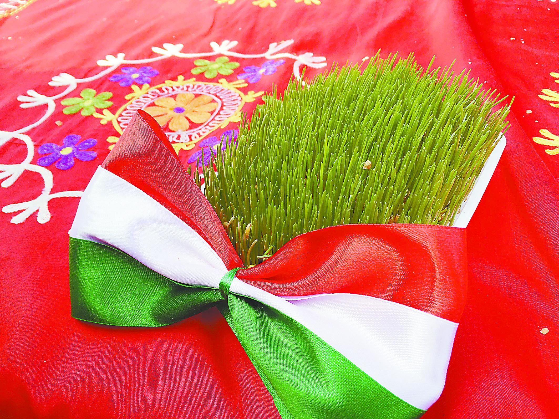 """在吉尔吉斯斯坦过""""春""""节"""