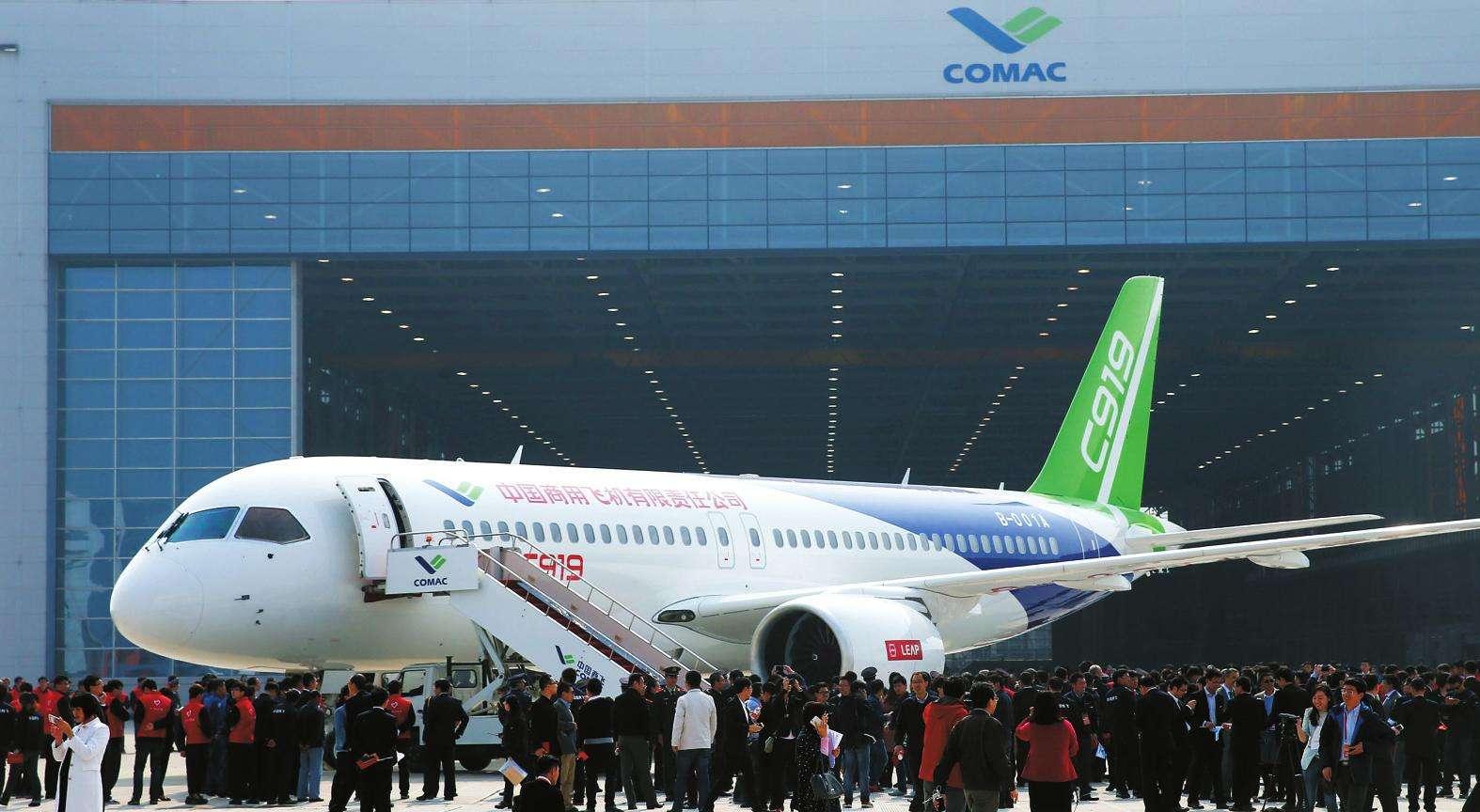 C919大飞机将首飞挑战波音空客 或能卖出2千架