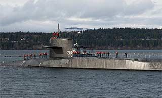 世界最强巡航导弹核潜艇块头大