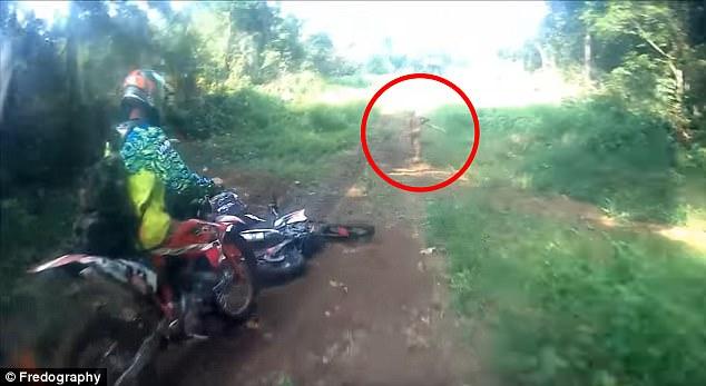 印尼惊现半裸男子 疑为小矮人部落成员