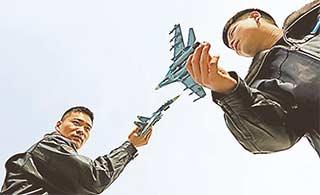 西部战区空军对抗演练紧张刺激