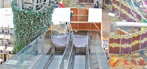 香港再出现两宗手扶电梯事故 事件中无人受伤