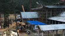 湖北黄冈麻城一在建工程垮塌 15名工人被埋