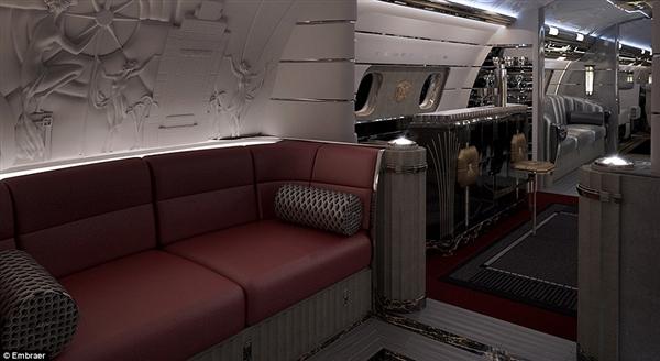 私人飞机之巅:造价5亿!内饰堪称艺术品