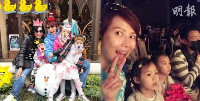 蔡少芬为女儿庆4岁生日 好友朱茵也带宝宝来庆贺