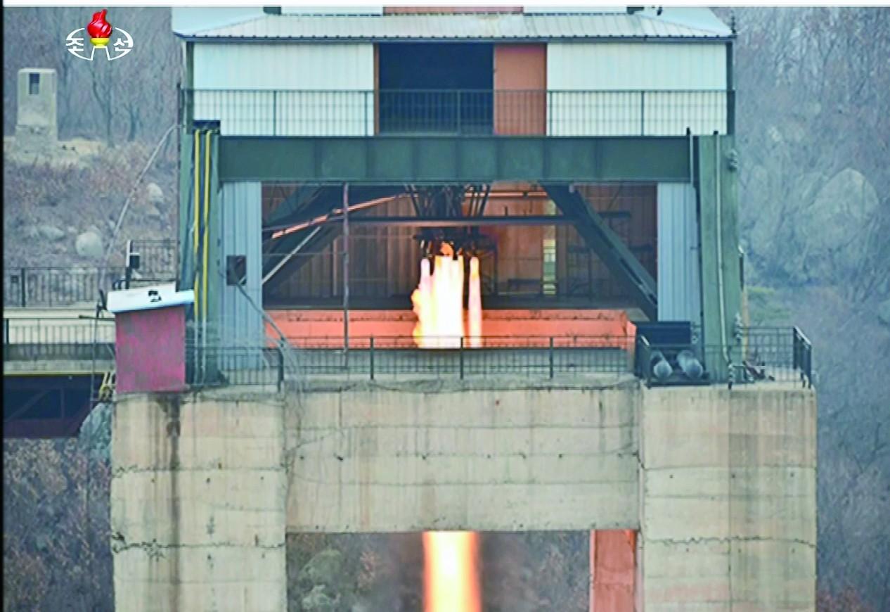 朝鲜为何频繁试验火箭发动机?或用于洲际导弹