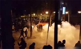 巴黎华人悼被杀同胞与警察冲突
