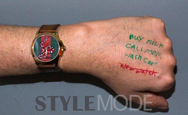 时尚品牌为了卖表也是拼了!
