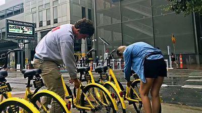 美媒:中国共享单车初创公司进军美国市场
