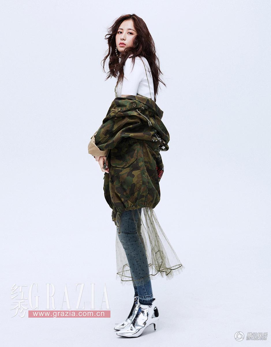 高清:周雨彤大片彰显时尚态度 演绎多变少女风