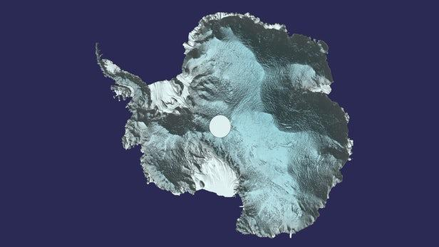 南极的3D图像提供了最清晰的冰层覆盖图