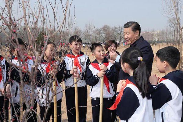 党和国家领导人植树活动