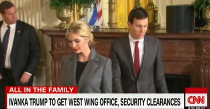 无薪!伊万卡宣布将以政府职员身份在白宫任总统顾问